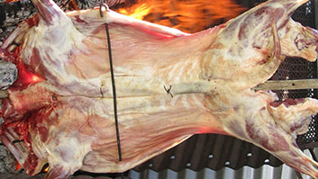 Plan a catering menu, big or small which exceeds expectations every time with London Spit Roast.