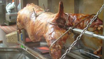 Allow London Spit Roast to do the cooking while you have all the fun at your celebration!